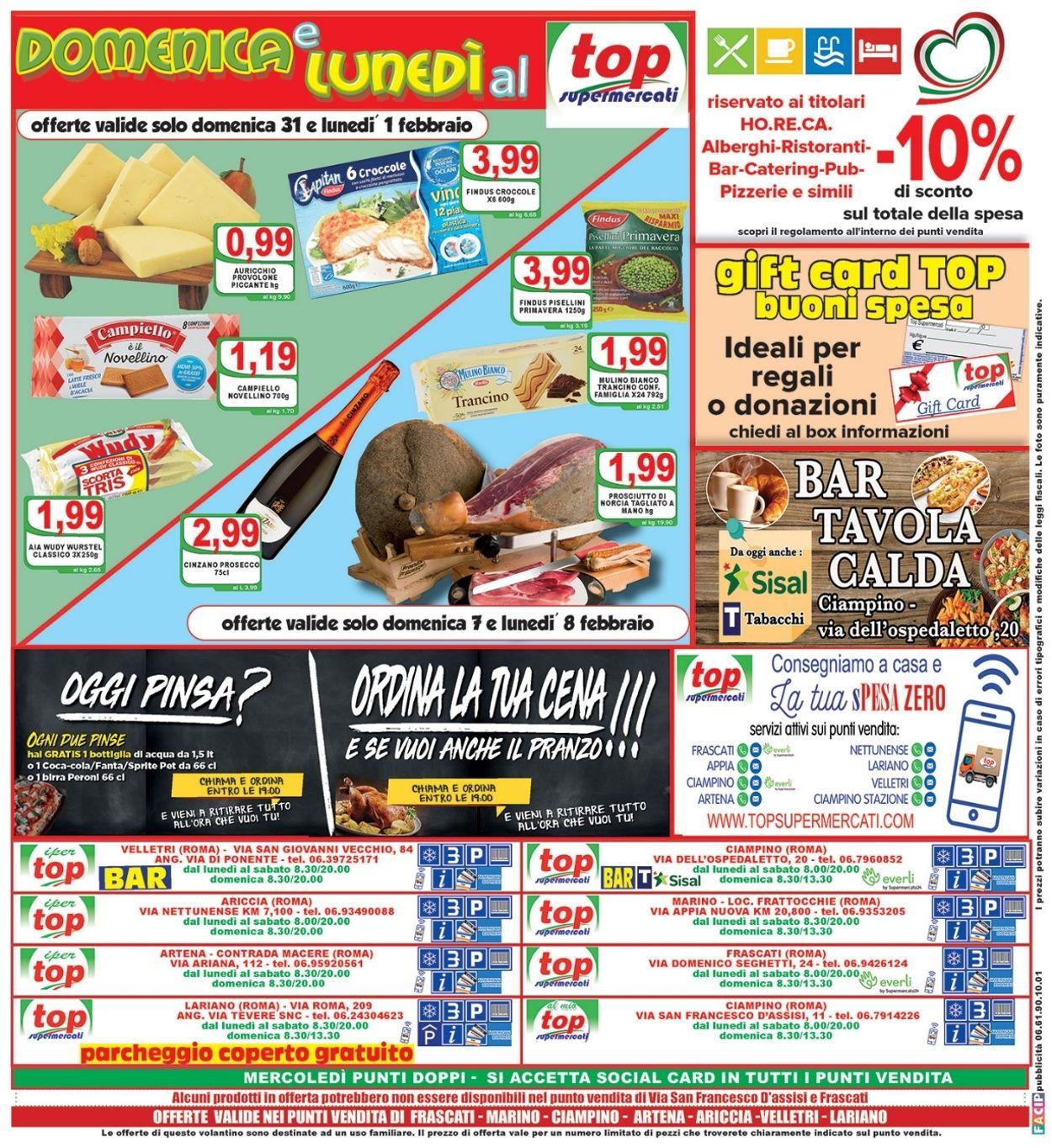 Volantino Top Supermercati - Offerte 29/01-09/02/2021 (Pagina 16)