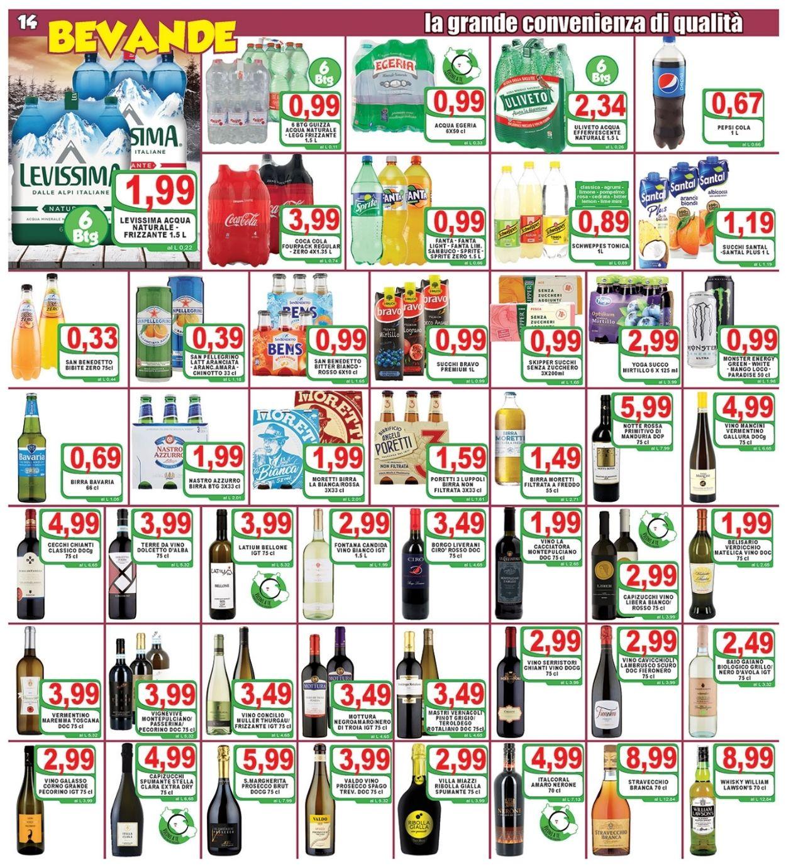 Volantino Top Supermercati - Offerte 10/02-18/02/2021 (Pagina 14)