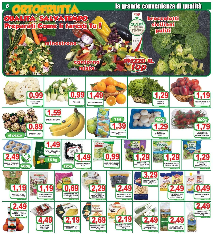 Volantino Top Supermercati - Offerte 19/02-02/03/2021 (Pagina 8)