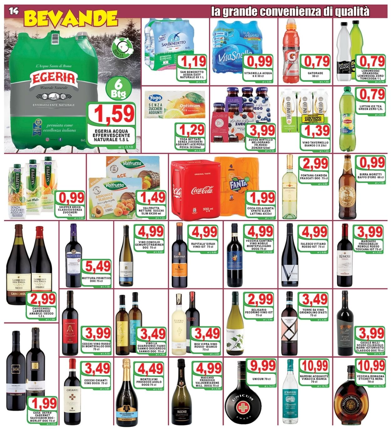 Volantino Top Supermercati - Offerte 19/02-02/03/2021 (Pagina 14)