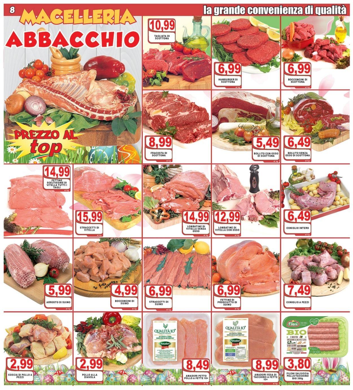 Volantino Top Supermercati - Pasqua 2021! - Offerte 24/03-03/04/2021 (Pagina 8)