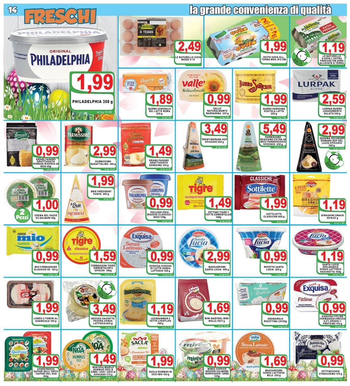 Volantino Top Supermercati - Pasqua 2021! - Offerte 24/03-03/04/2021 (Pagina 14)
