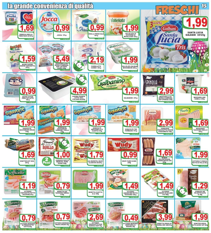 Volantino Top Supermercati - Pasqua 2021! - Offerte 24/03-03/04/2021 (Pagina 15)