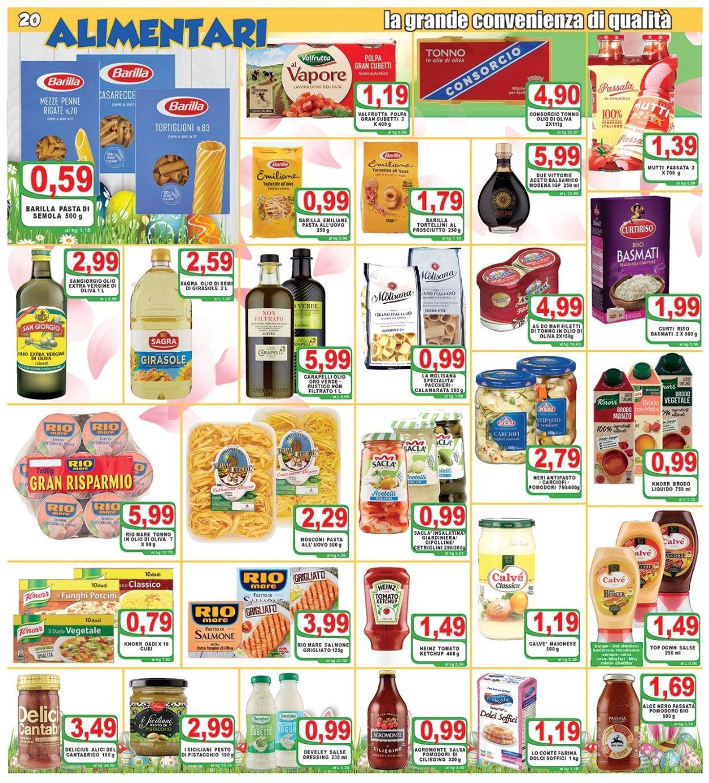 Volantino Top Supermercati - Pasqua 2021! - Offerte 24/03-03/04/2021 (Pagina 20)