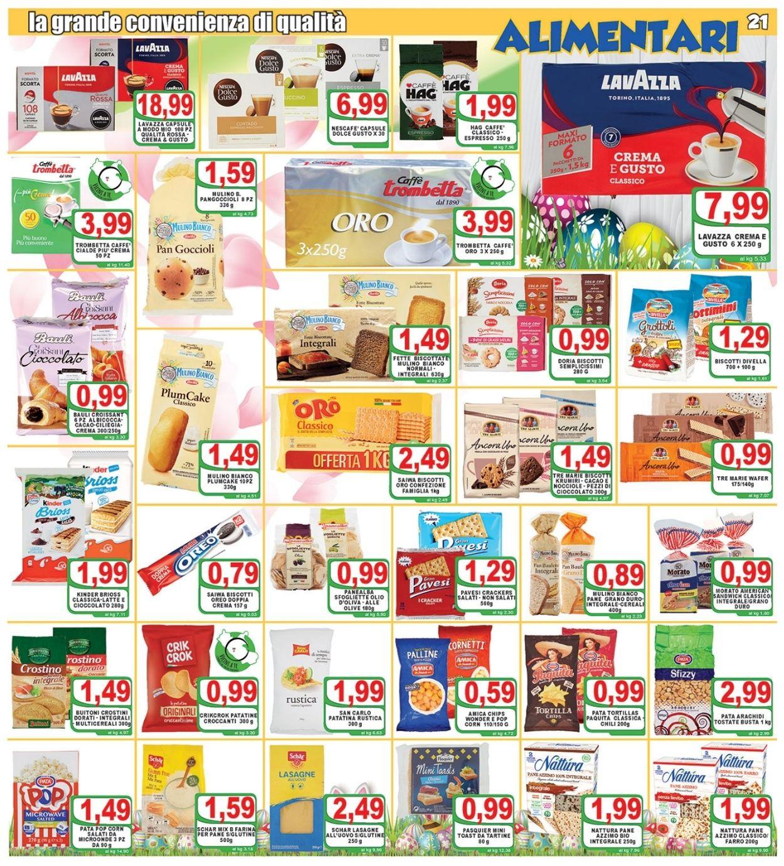 Volantino Top Supermercati - Pasqua 2021! - Offerte 24/03-03/04/2021 (Pagina 21)