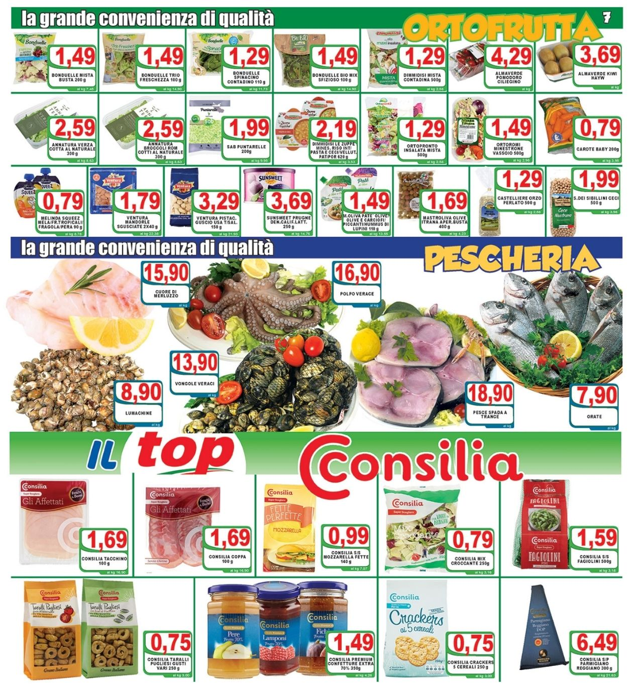 Volantino Top Supermercati - Offerte 06/04-15/04/2021 (Pagina 7)