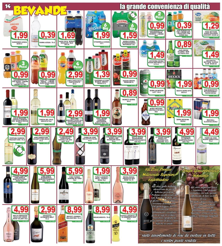 Volantino Top Supermercati - Offerte 06/04-15/04/2021 (Pagina 14)