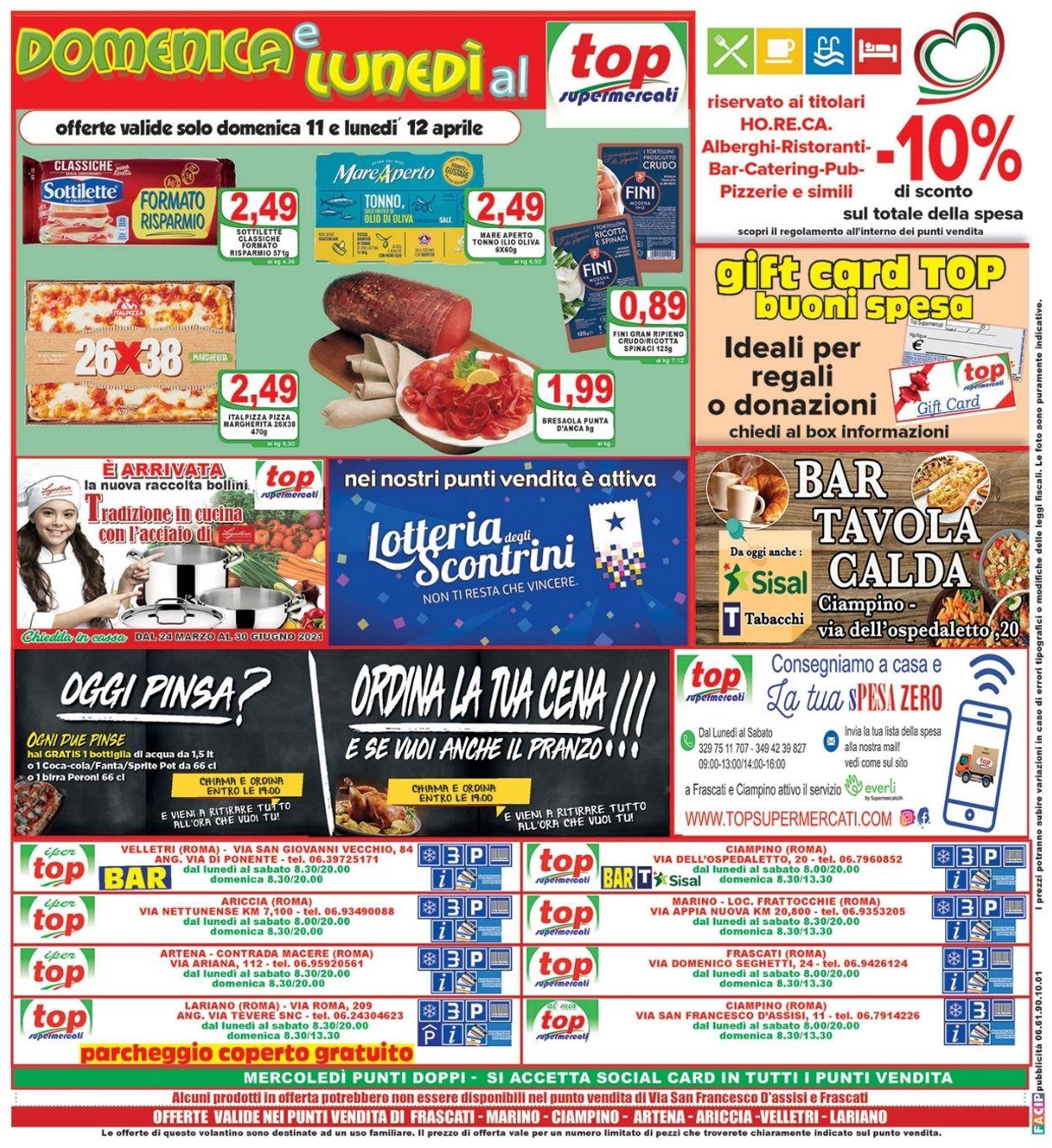 Volantino Top Supermercati - Offerte 06/04-15/04/2021 (Pagina 16)