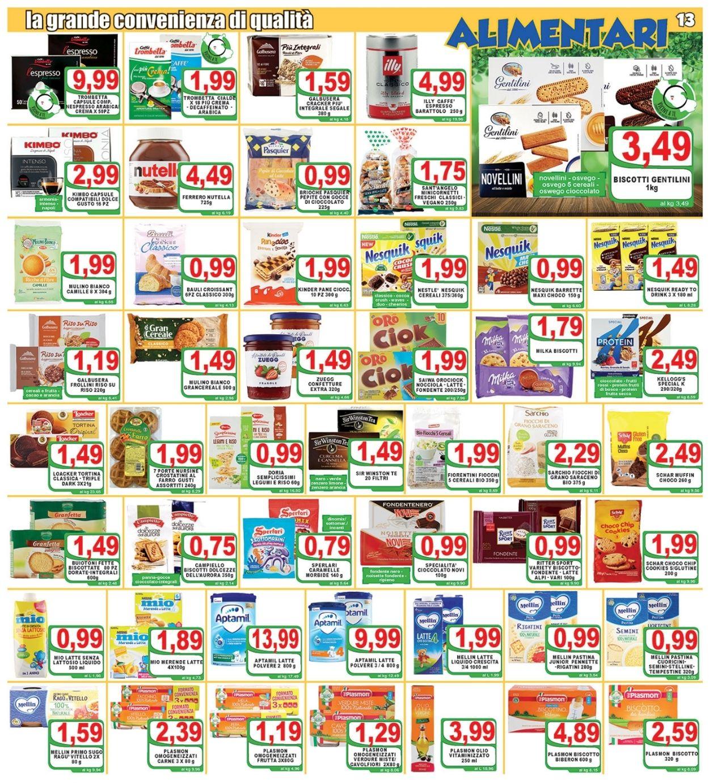 Volantino Top Supermercati - Offerte 16/04-27/04/2021 (Pagina 13)
