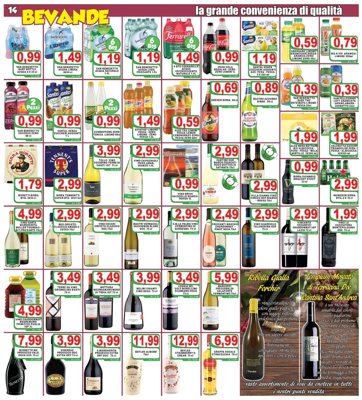 Volantino Top Supermercati - Offerte 16/04-27/04/2021 (Pagina 14)