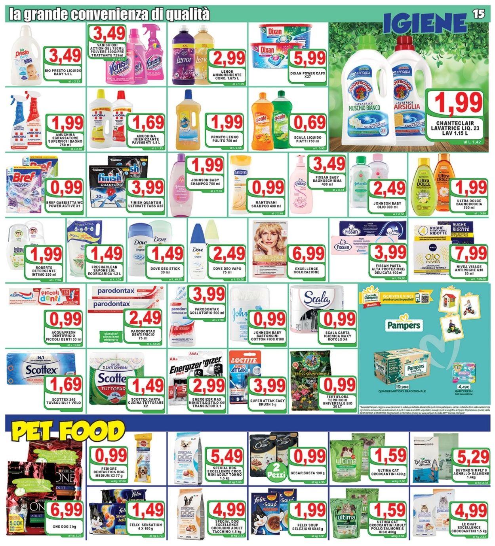 Volantino Top Supermercati - Offerte 16/04-27/04/2021 (Pagina 15)