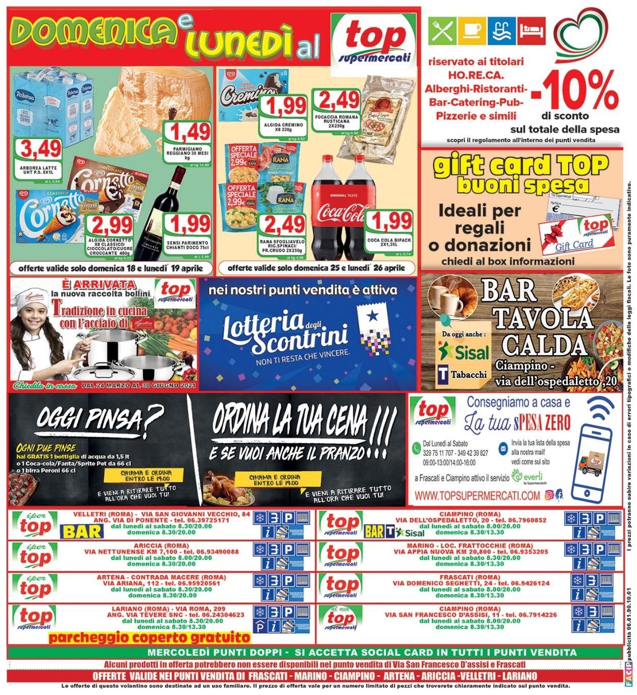 Volantino Top Supermercati - Offerte 16/04-27/04/2021 (Pagina 16)