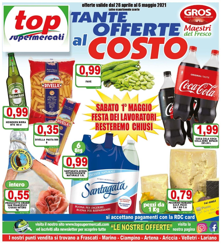 Volantino Top Supermercati - Offerte 28/04-06/05/2021