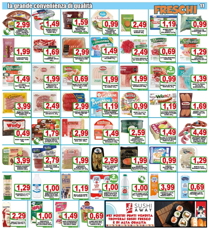 Volantino Top Supermercati - Offerte 28/04-06/05/2021 (Pagina 11)