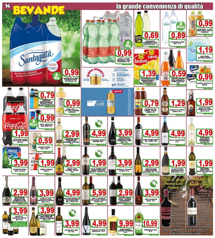 Volantino Top Supermercati - Offerte 28/04-06/05/2021 (Pagina 14)