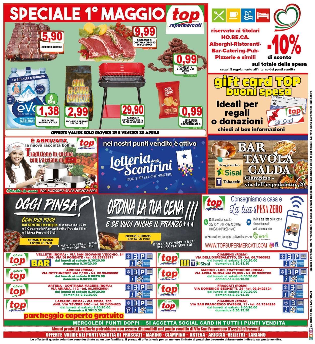 Volantino Top Supermercati - Offerte 28/04-06/05/2021 (Pagina 16)