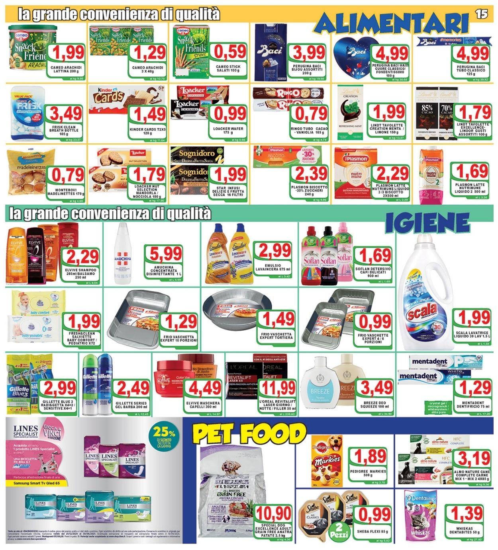 Volantino Top Supermercati - Offerte 07/05-18/05/2021 (Pagina 15)