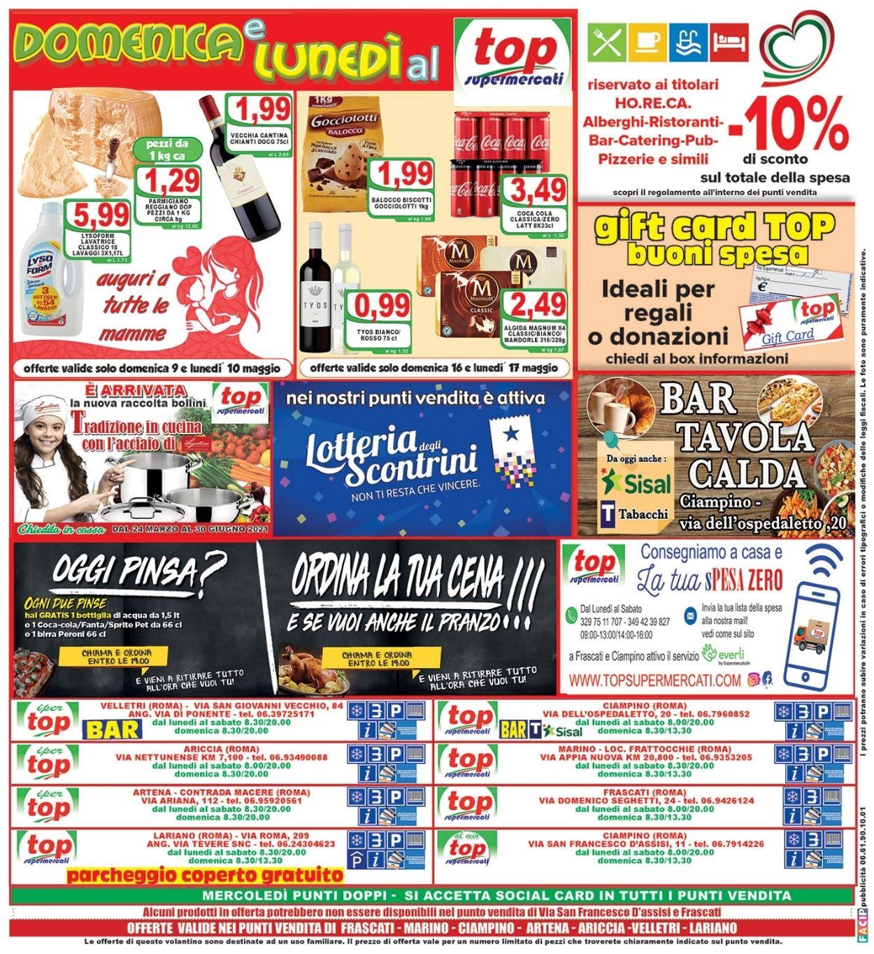 Volantino Top Supermercati - Offerte 07/05-18/05/2021 (Pagina 16)