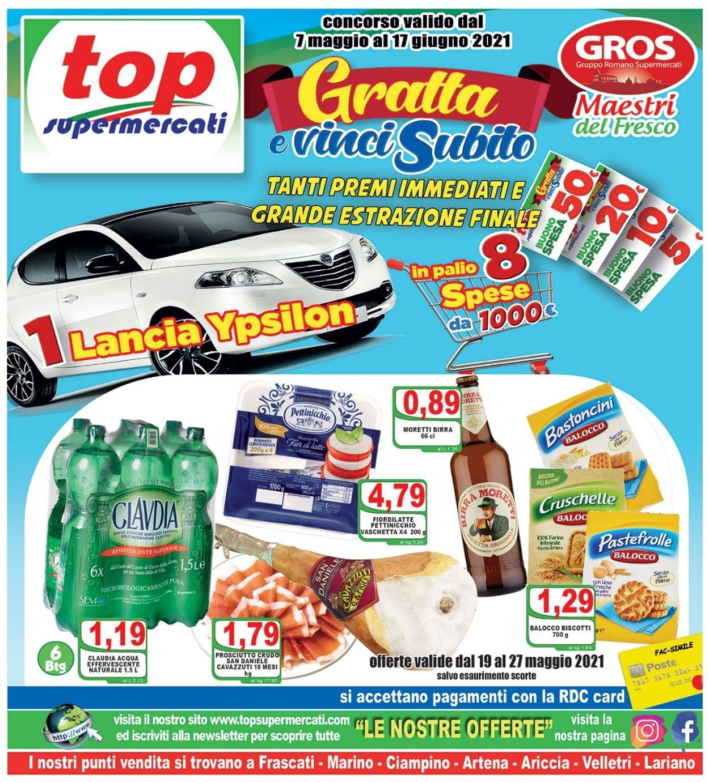 Volantino Top Supermercati - Offerte 19/05-27/05/2021