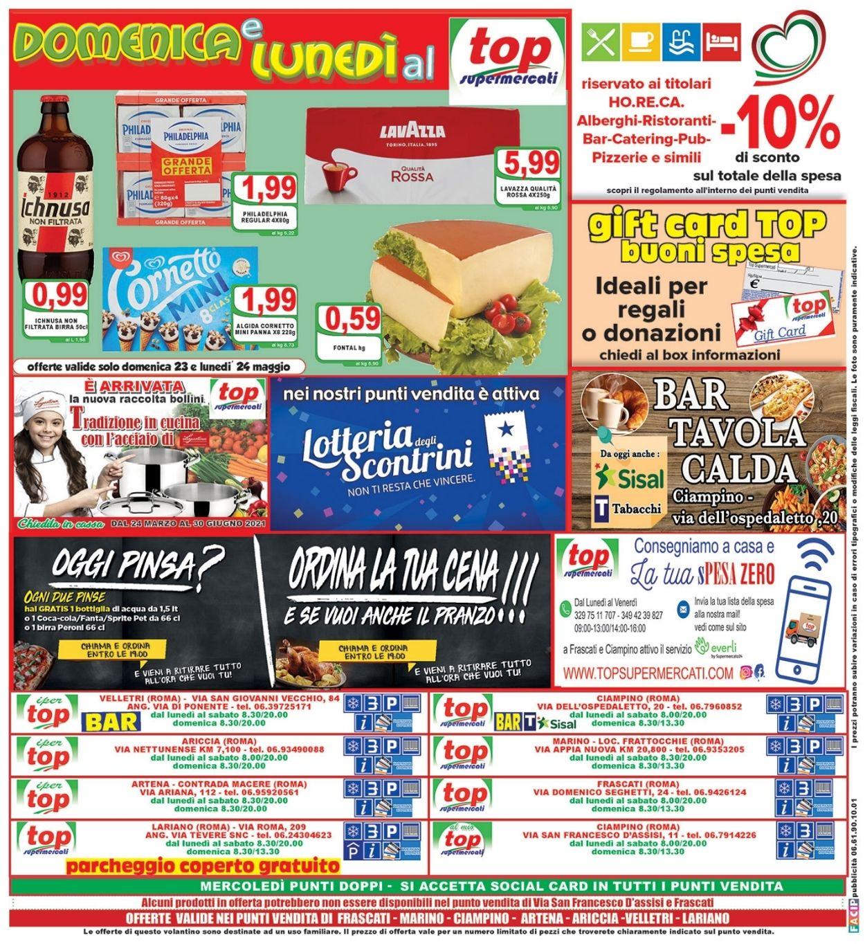 Volantino Top Supermercati - Offerte 19/05-27/05/2021 (Pagina 16)