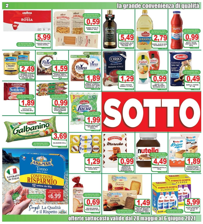 Volantino Top Supermercati - Offerte 28/05-08/06/2021 (Pagina 2)