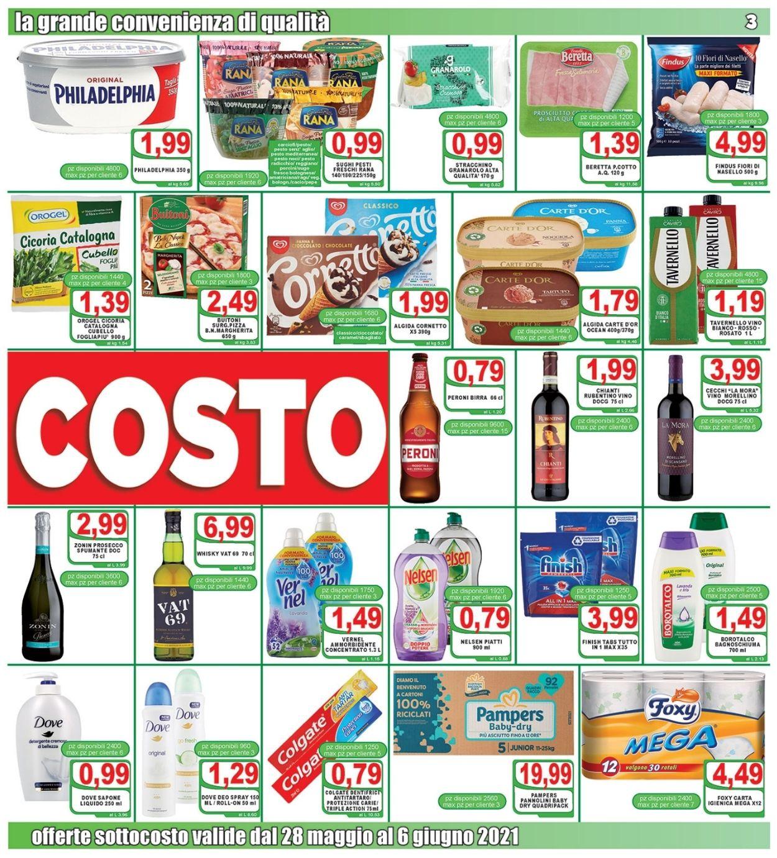 Volantino Top Supermercati - Offerte 28/05-08/06/2021 (Pagina 3)