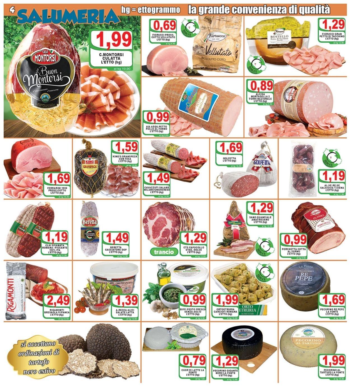 Volantino Top Supermercati - Offerte 28/05-08/06/2021 (Pagina 4)