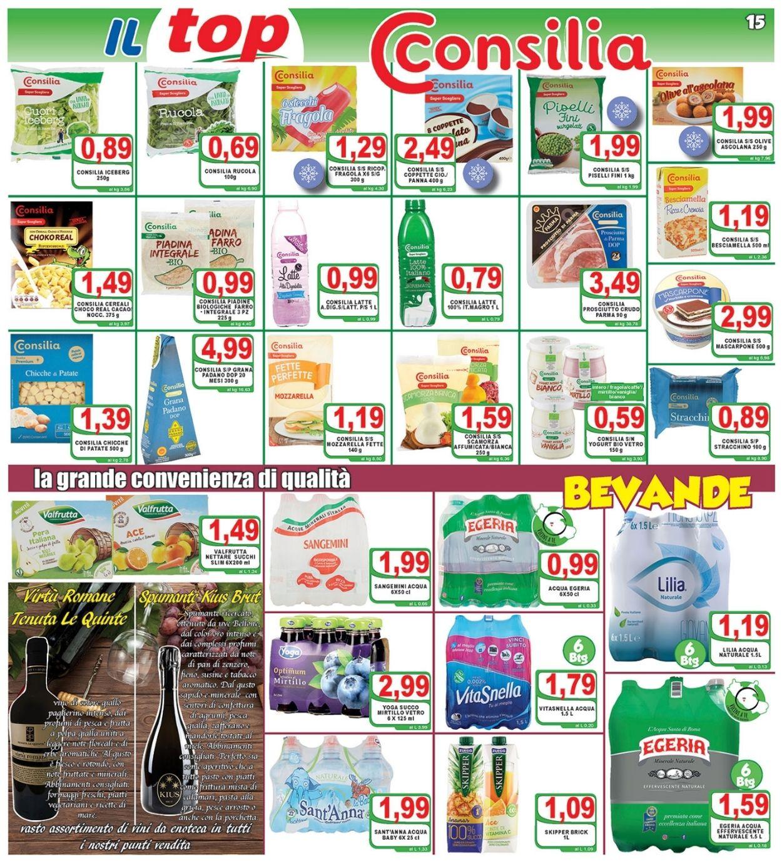 Volantino Top Supermercati - Offerte 28/05-08/06/2021 (Pagina 15)