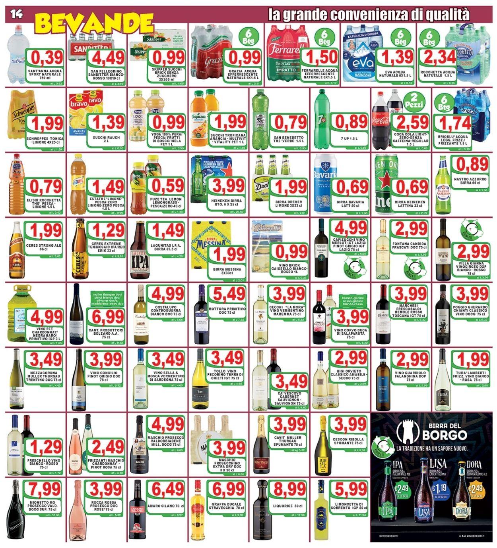 Volantino Top Supermercati - Offerte 09/06-17/06/2021 (Pagina 14)