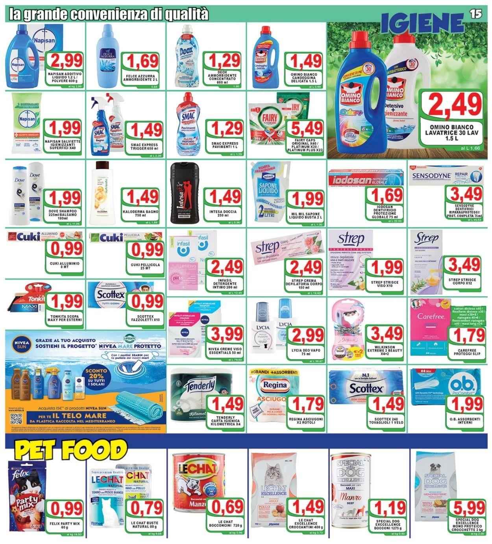 Volantino Top Supermercati - Offerte 09/06-17/06/2021 (Pagina 15)
