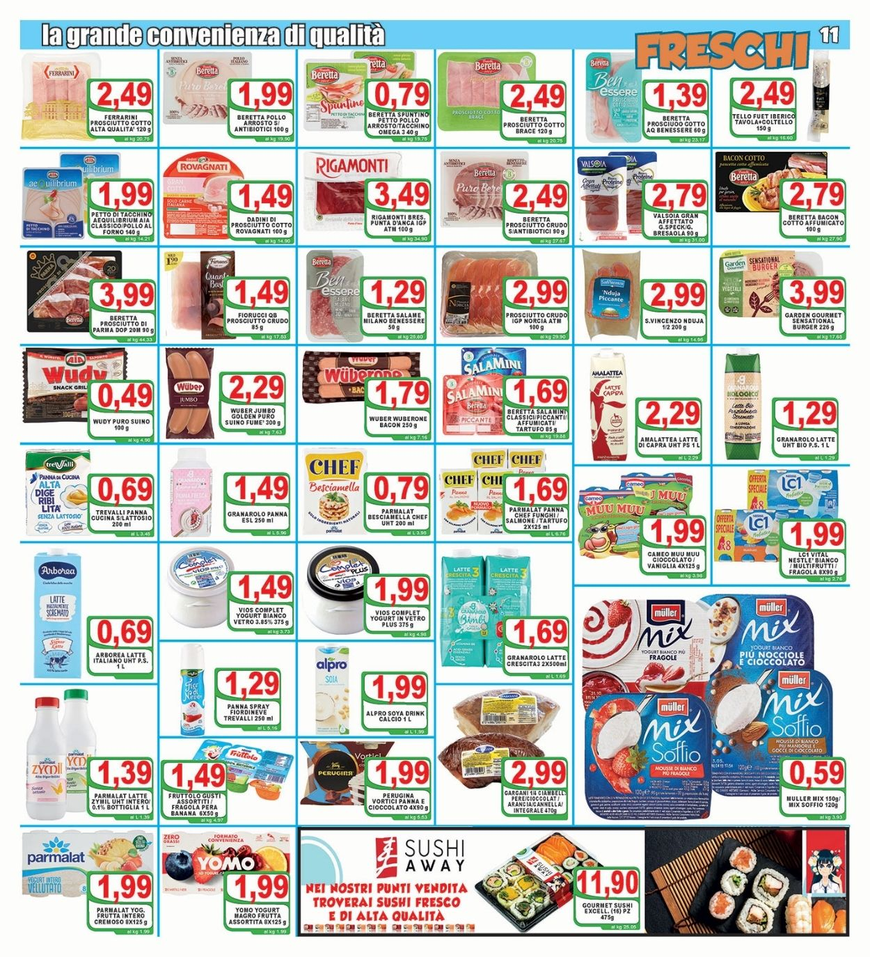 Volantino Top Supermercati - Offerte 18/06-29/06/2021 (Pagina 11)