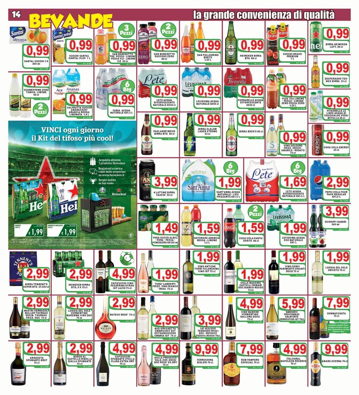 Volantino Top Supermercati - Offerte 18/06-29/06/2021 (Pagina 14)