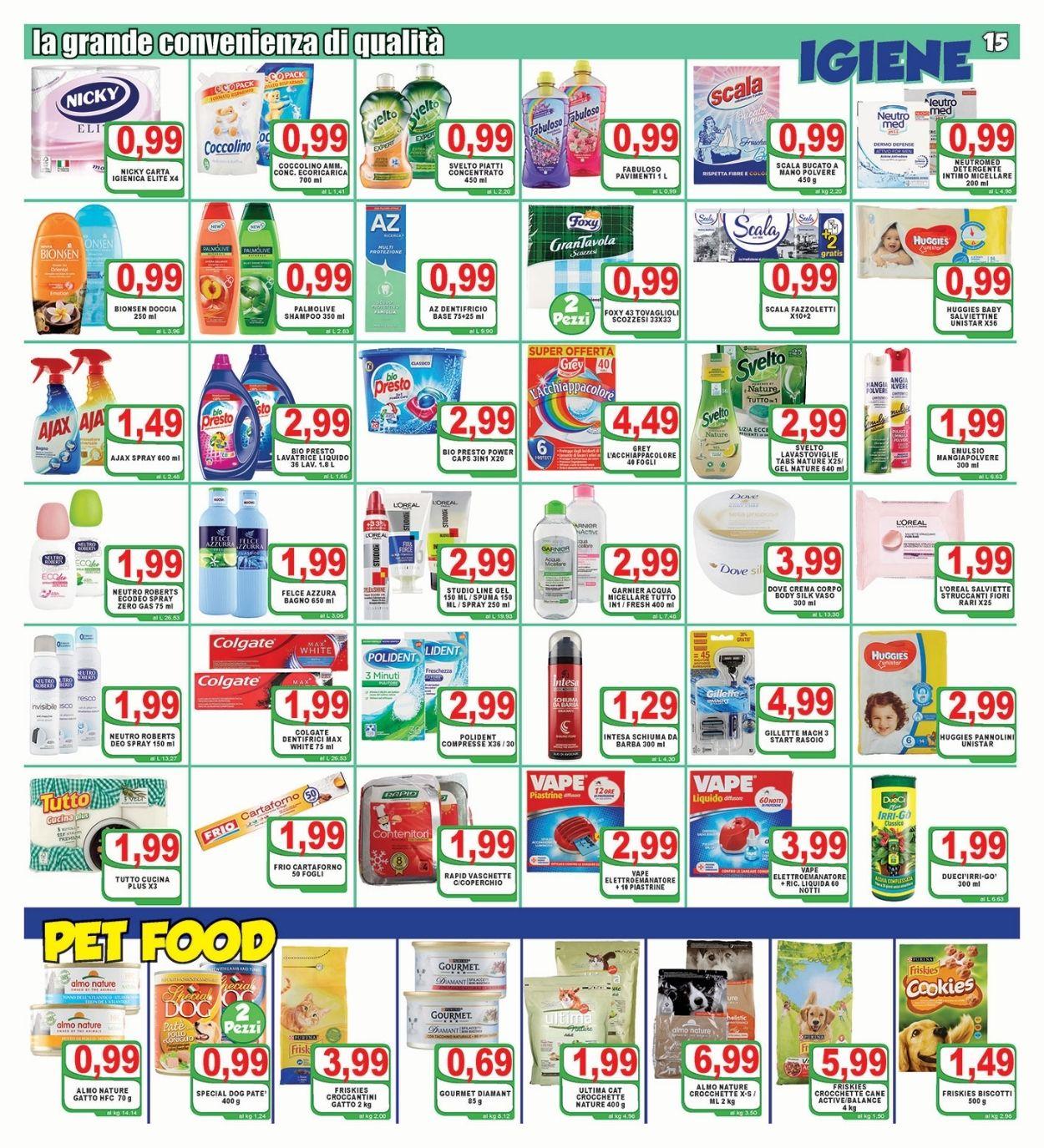 Volantino Top Supermercati - Offerte 18/06-29/06/2021 (Pagina 15)