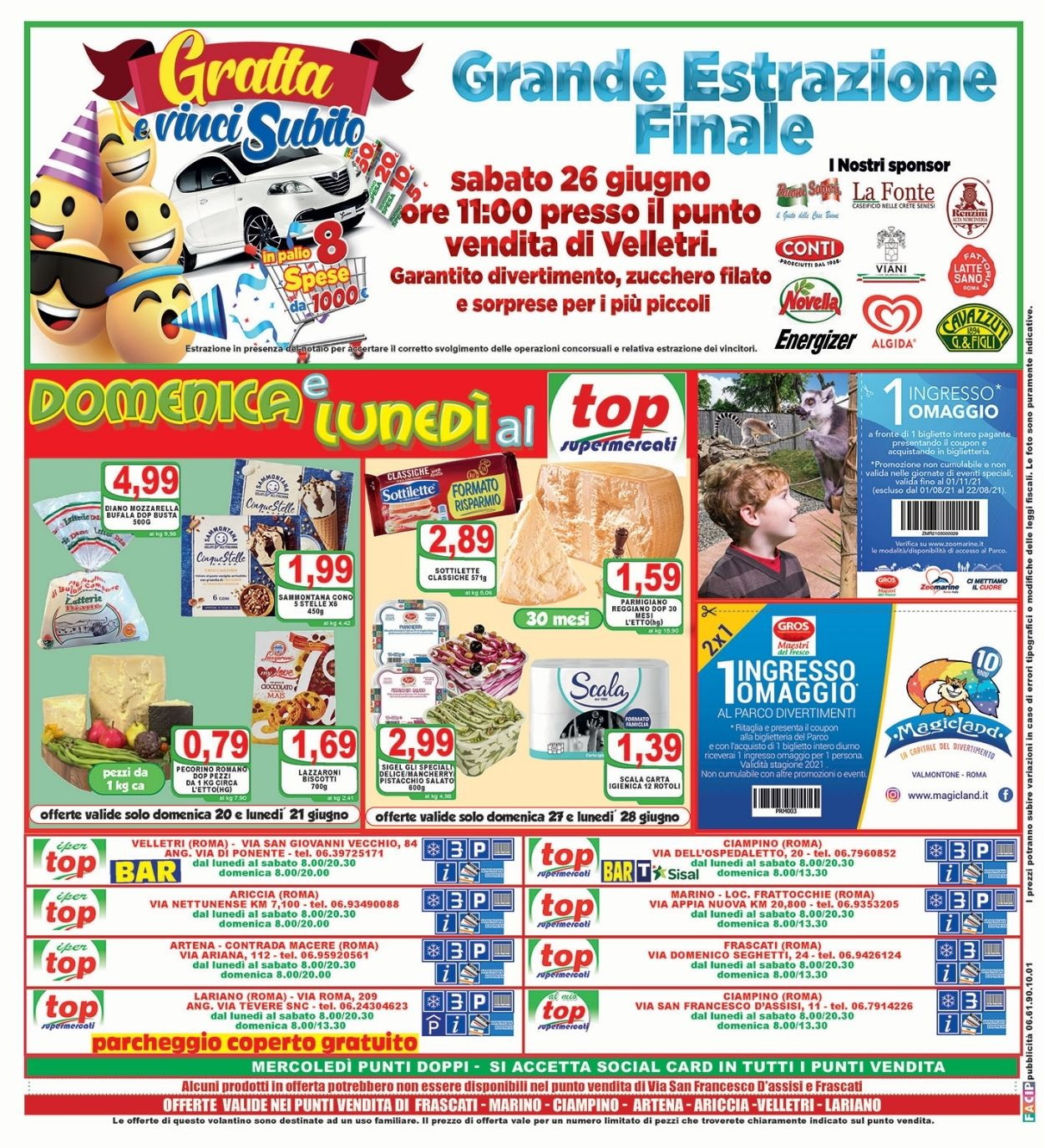 Volantino Top Supermercati - Offerte 18/06-29/06/2021 (Pagina 16)