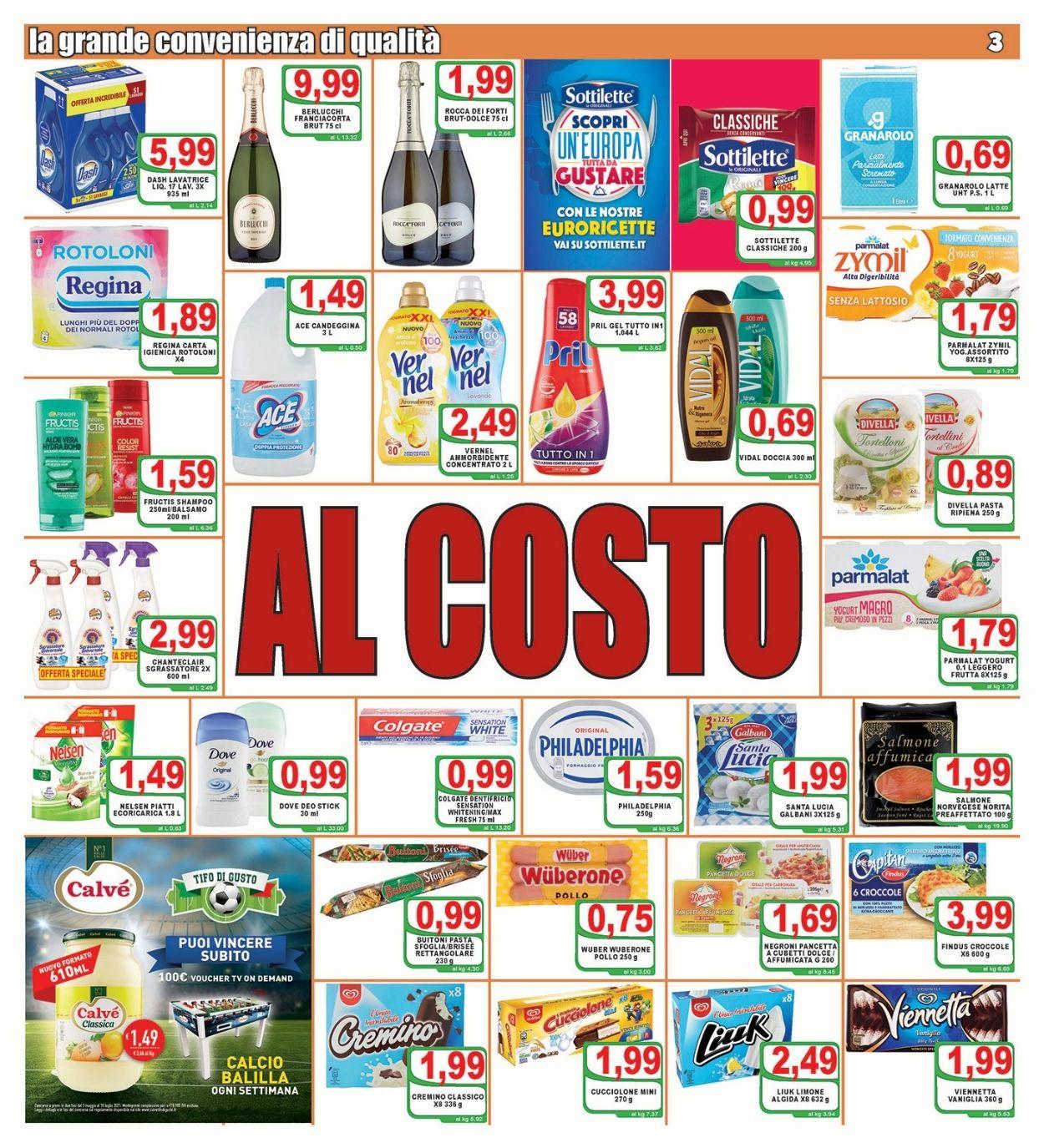 Volantino Top Supermercati - Offerte 30/06-08/07/2021 (Pagina 3)