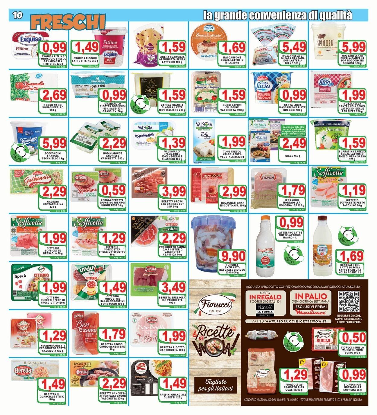Volantino Top Supermercati - Offerte 30/06-08/07/2021 (Pagina 10)