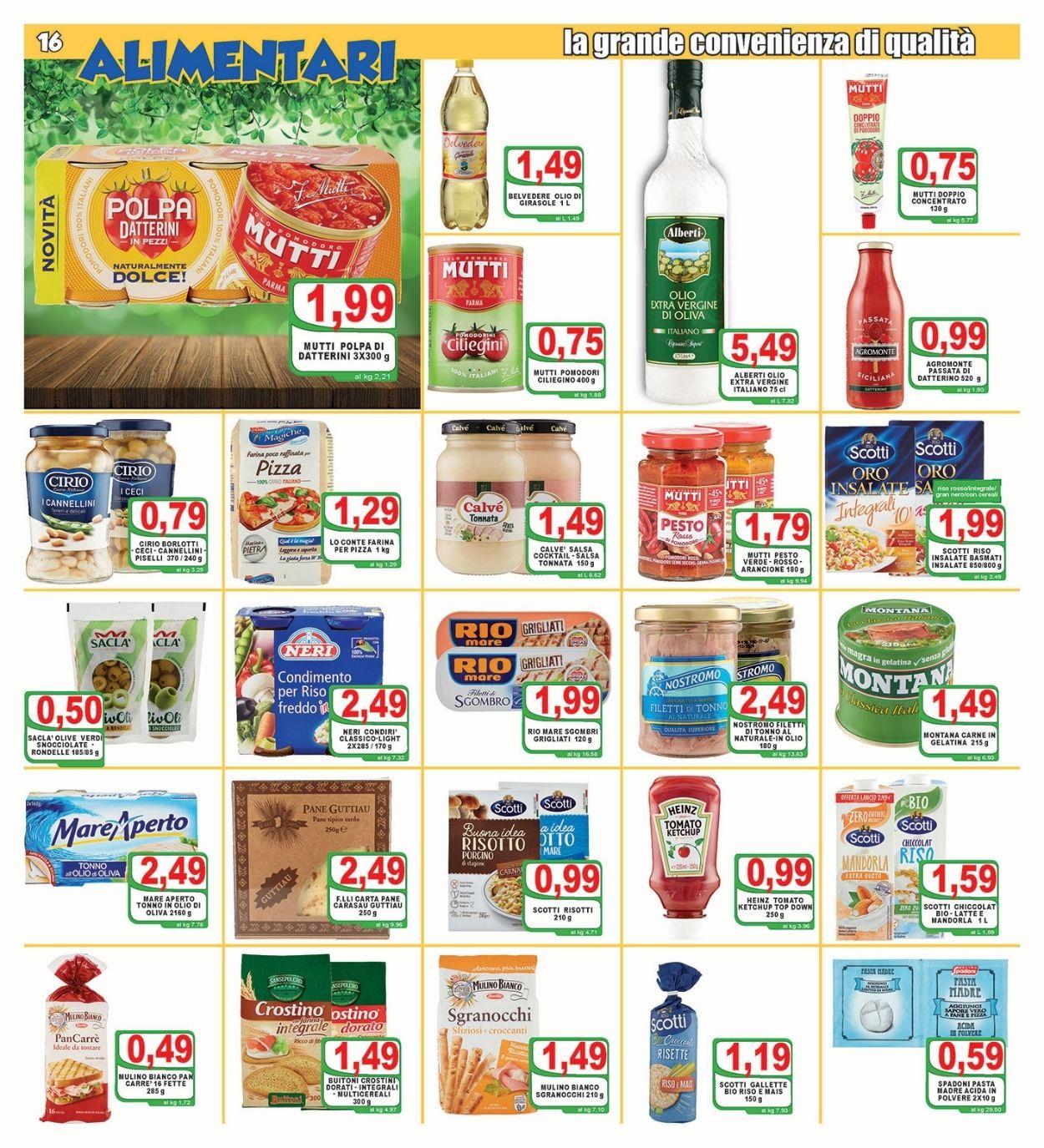 Volantino Top Supermercati - Offerte 30/06-08/07/2021 (Pagina 16)