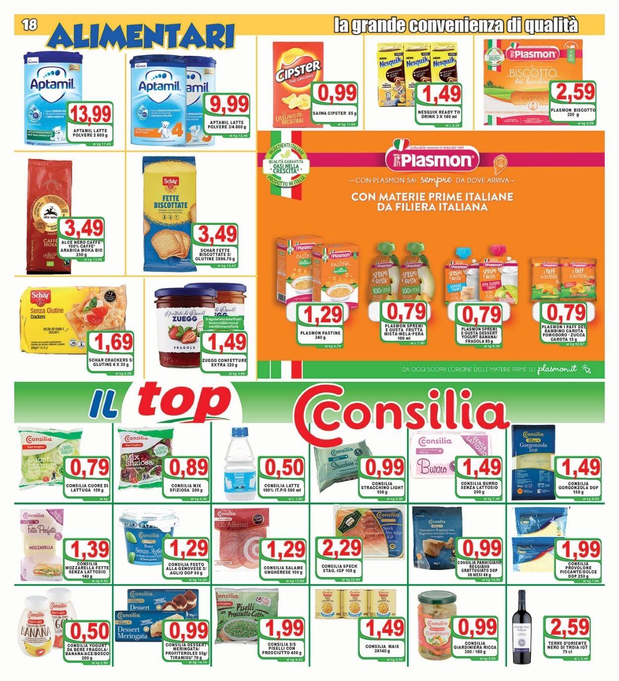 Volantino Top Supermercati - Offerte 30/06-08/07/2021 (Pagina 18)