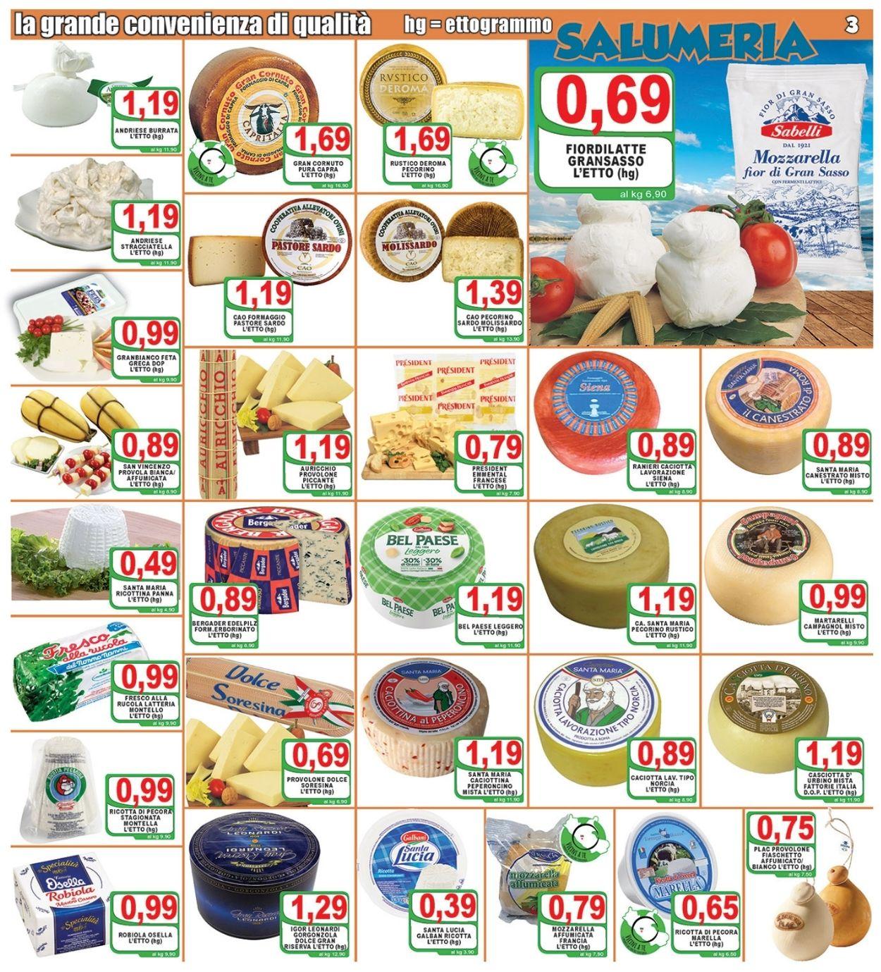 Volantino Top Supermercati - Offerte 09/07-20/07/2021 (Pagina 3)