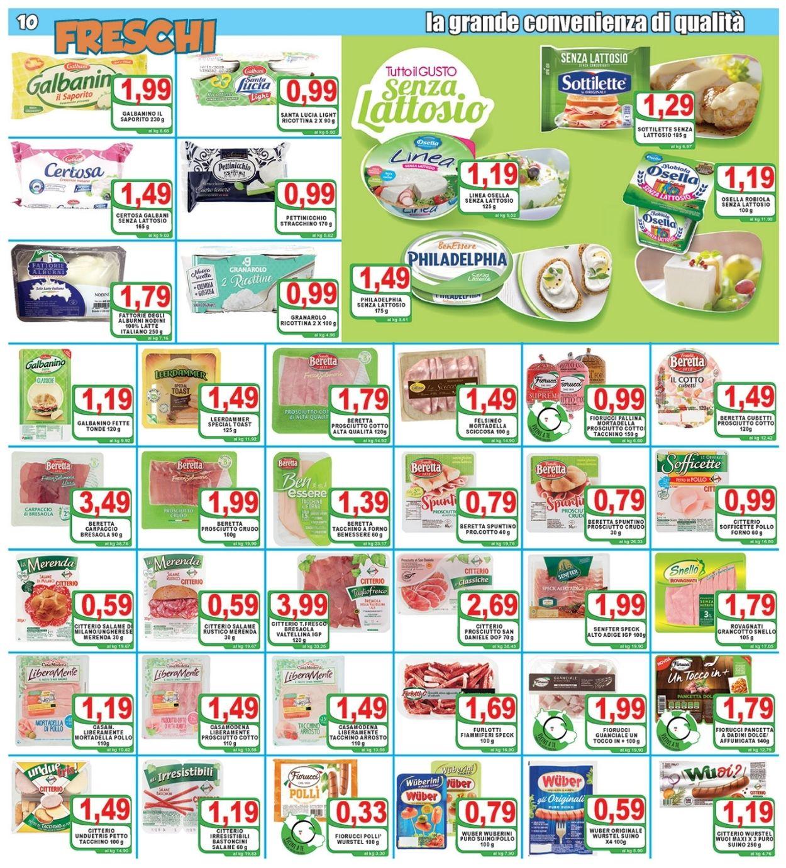 Volantino Top Supermercati - Offerte 09/07-20/07/2021 (Pagina 10)