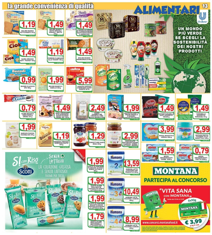 Volantino Top Supermercati - Offerte 09/07-20/07/2021 (Pagina 13)