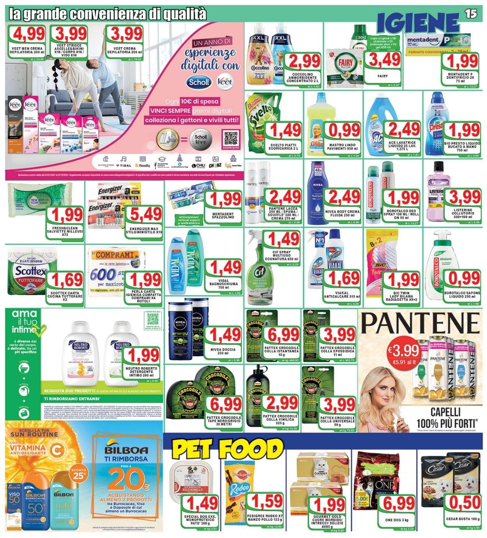 Volantino Top Supermercati - Offerte 09/07-20/07/2021 (Pagina 15)