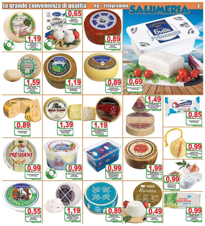 Volantino Top Supermercati - Offerte 21/07-29/07/2021 (Pagina 3)