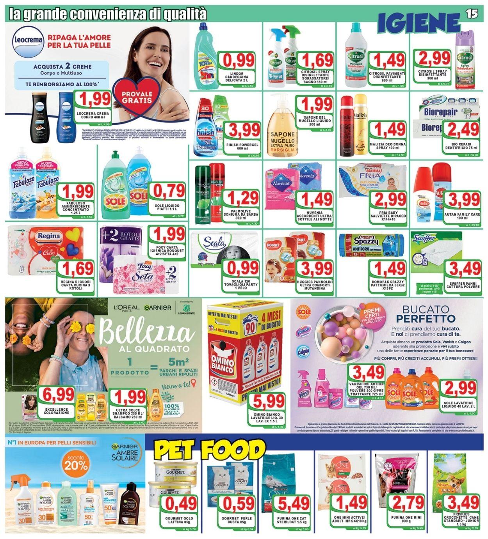 Volantino Top Supermercati - Offerte 21/07-29/07/2021 (Pagina 15)