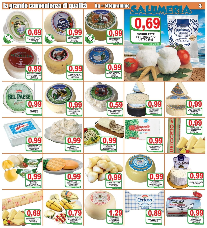 Volantino Top Supermercati - Offerte 30/07-10/08/2021 (Pagina 3)