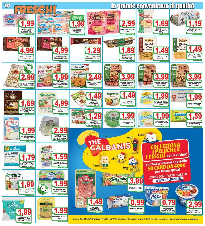 Volantino Top Supermercati - Offerte 30/07-10/08/2021 (Pagina 10)