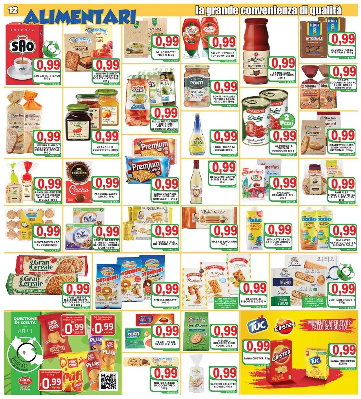 Volantino Top Supermercati - Offerte 30/07-10/08/2021 (Pagina 12)