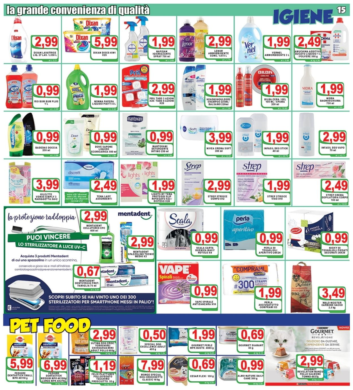Volantino Top Supermercati - Offerte 30/07-10/08/2021 (Pagina 15)