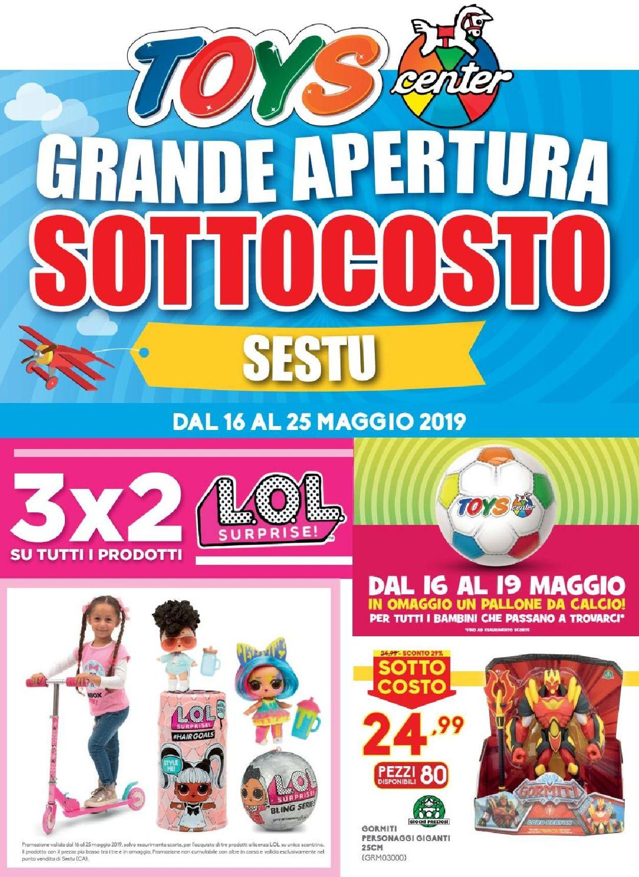 Volantino Toys Center - Offerte 16/05-25/05/2019