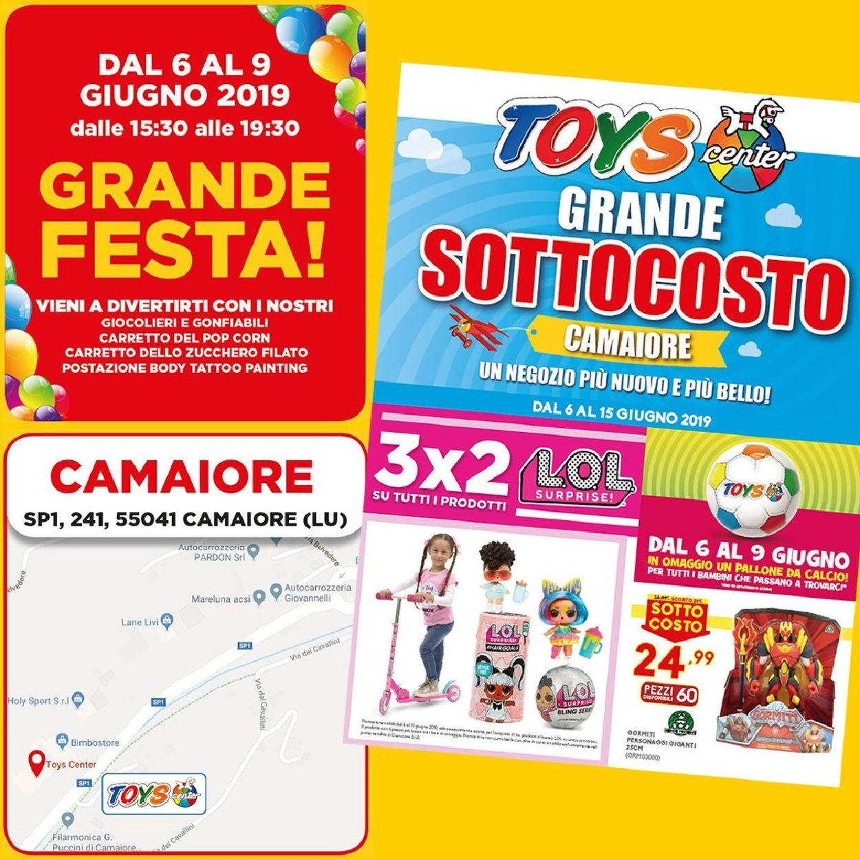 Volantino Toys Center - Offerte 06/06-09/06/2019